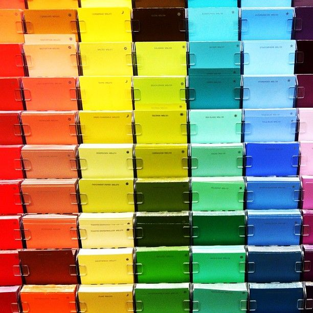 """Today's Instagram Photo (paulmeriweather) """"Paint Swatches""""    http://instagr.am/p/aIImE/    #paintswatches #paint #swatch #swatches #photo #photos #photograph #photography #photographer #pic #pics #red #green #blue #red #orange #rainbow #yellow #gold #golden #colors #color #homedepot #home #depot"""
