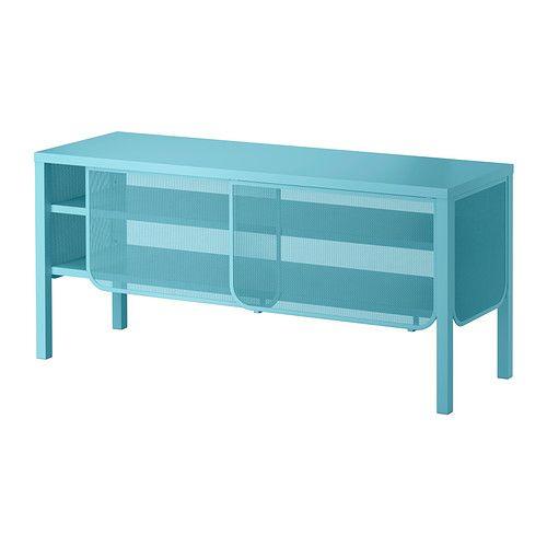 NITTORP TV bench - turquoise  - IKEA