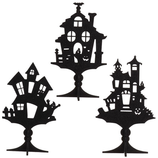 127 best images about halloween silhouettes on pinterest. Black Bedroom Furniture Sets. Home Design Ideas