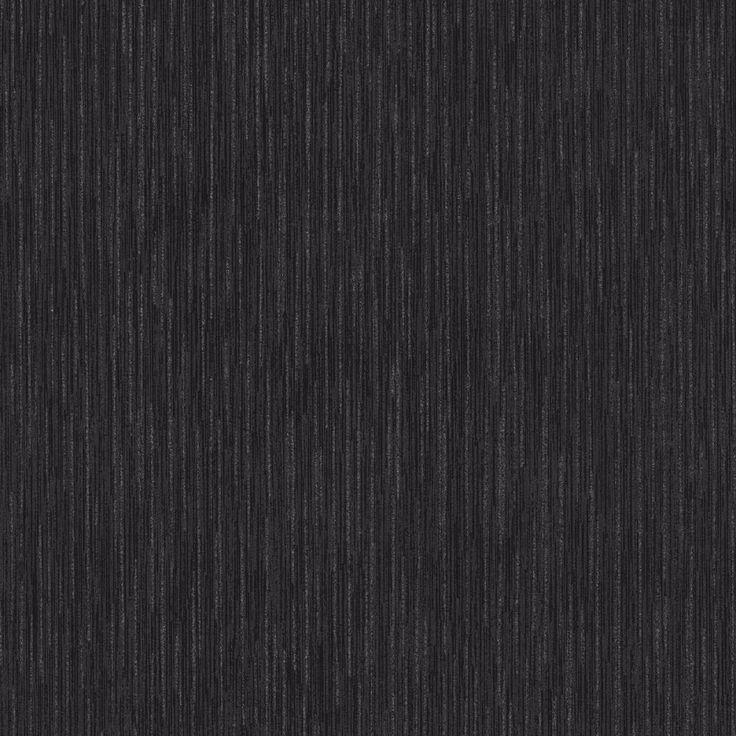 Opal Plain Black Wallpaper with Glitter Highlights P+S 13521-10