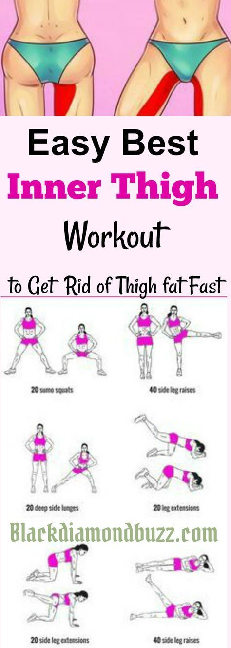 Inner thigh slimming workouts  Here are easy best inner thigh exercises to get rid of thigh fat and tone legs fast at home.