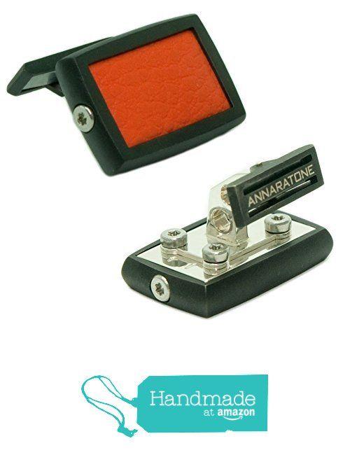 Annaratone Jewelry , Gemelli in Argento 925 , Historic Racing Black Edition Rutenio Arancione RSR , Opaco da Annaratone Jewelry https://www.amazon.it/dp/B01M1H1XZF/ref=hnd_sw_r_pi_dp_IXq6xbS4WZYBA #handmadeatamazon