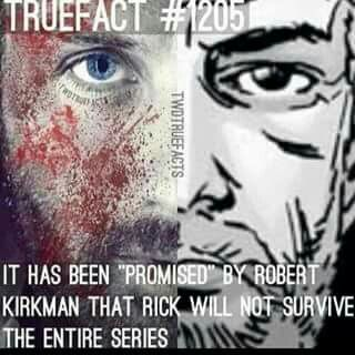 Nooo........ Why? it will be a good twist. But but but if Rick dies does that mean it'll all end ?