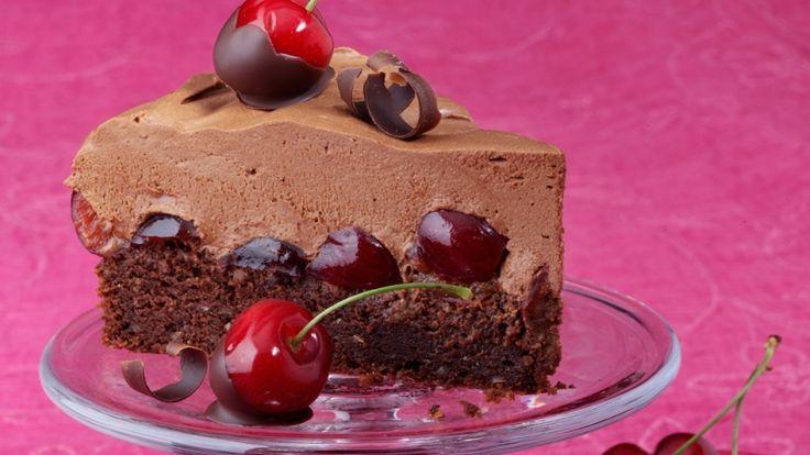 Divine Cherry & Chocolate Cake