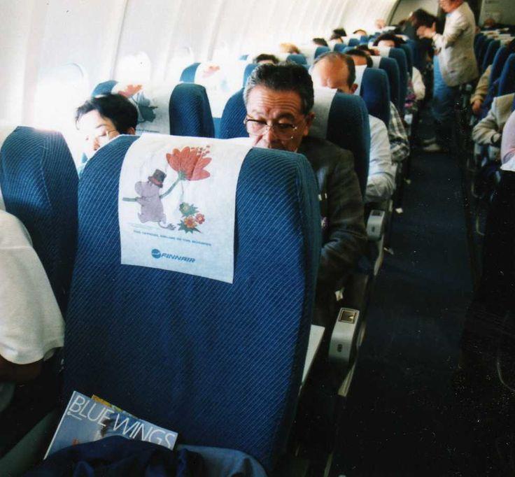 Inside Moomin Plane
