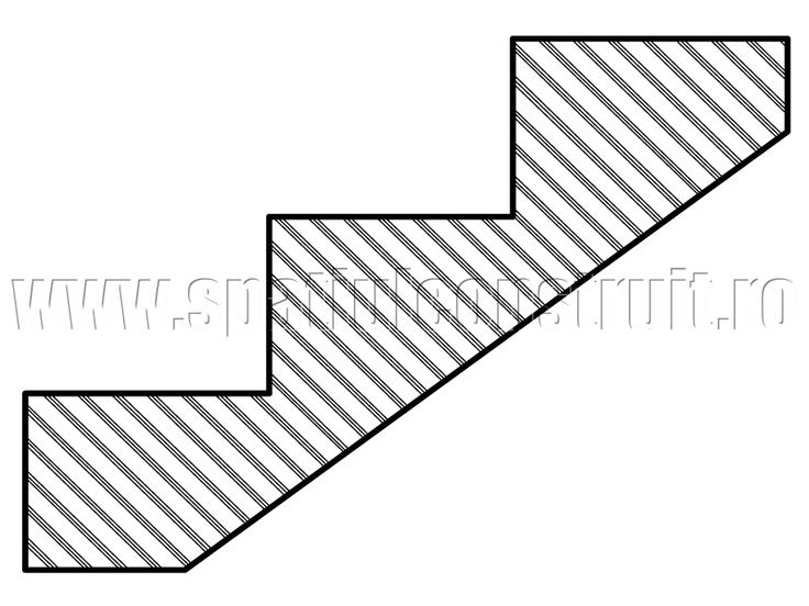Staircases: general concepts & classifications/ Scari: notiuni generale, clasificari >> Sharp edge steps/ Trepte cu muchie vie