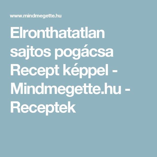 Elronthatatlan sajtos pogácsa Recept képpel - Mindmegette.hu - Receptek