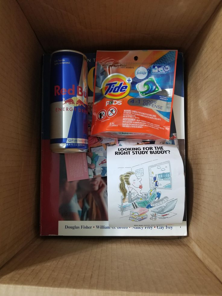 Good guy Chegg is looking out after students. Rented a few books from Chegg.com. It came with a Redbull and Tide Pods.