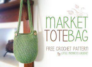 Magical Market Bag | AllFreeCrochet.com