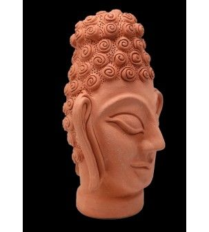 Buddha in Terracotta Sculpture