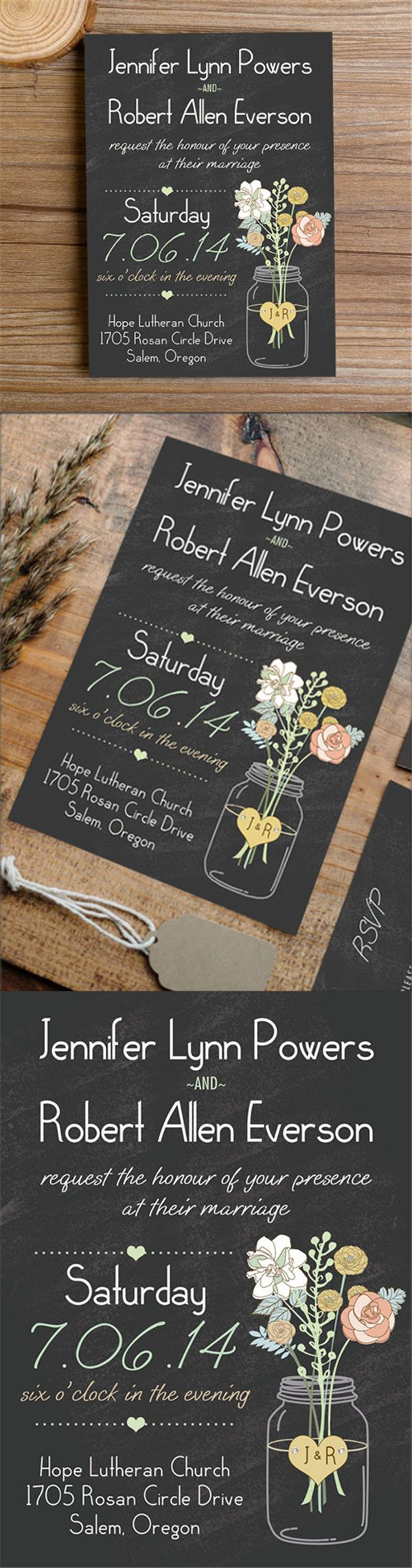 Best 25+ Cheap Wedding Invitations Ideas On Pinterest | Budget Wedding  Invitations, Budget Wedding Save The Dates And Budget Wedding Stationery