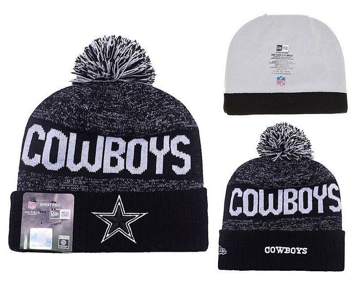 Men's / Women's Dallas Cowboys New Era 2016 Sideline Official Sport Knit Pom Pom…