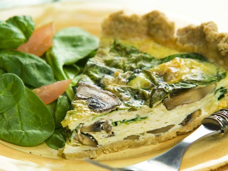 Did you know Silk® has a ton of tasty recipes, like  this one for Spinach Mushroom Quiche? http://silk.com/recipes/spinach-mushroom-quiche