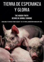 Este documental está hecho por los fundadores de la organización por los derechos animales Surge: 'En 2005 el documental Terrícolas se convirtió en el filme fundamental del movimiento por los derechos animales. Aquí en el Reino Unido, sin embargo, encontramos que la frase, 'eso no pasa en nuestro país' había llegado demasiado lejos. Con Tierra de Esperanza y Gloria queremos mostrar la verdad detrás de la ganadería en el Reino Unido, mediante la investigación más actual y con filma...