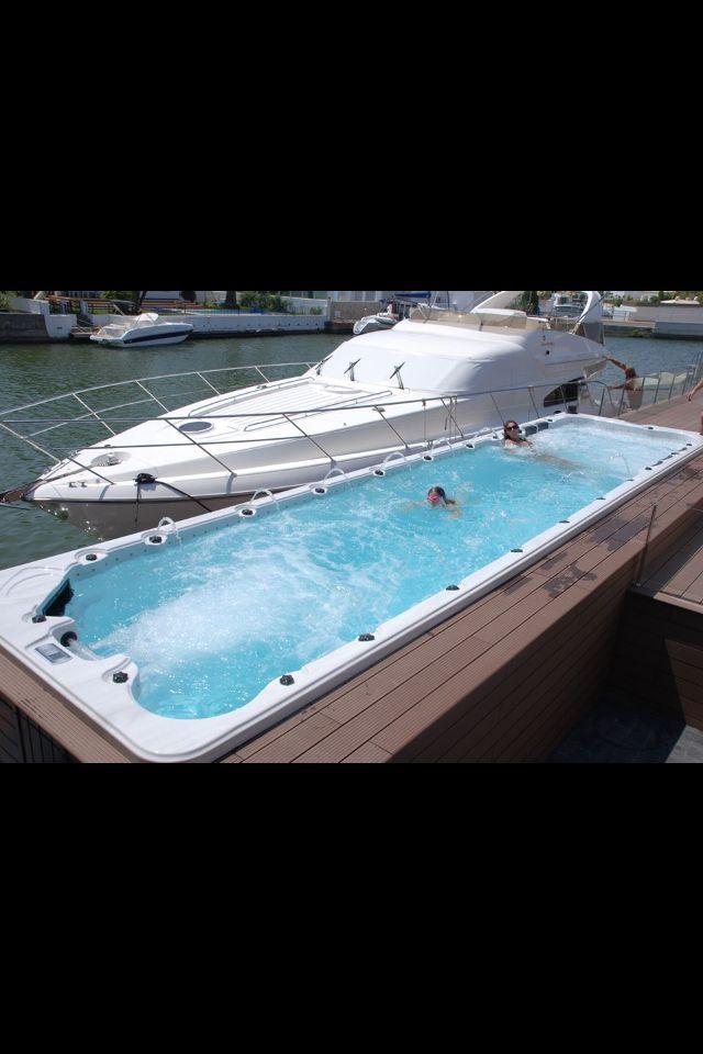 Aquazzi.Un Spa De 9 Metres .Jacuzzi. | Aquazzi | Pinterest