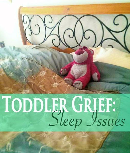 Dealing with Toddler Grief in #Adoption : Sleep Issues
