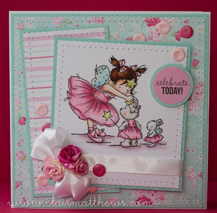 LOTV - You're s Start with Romance and Roses Paper Pad by Clair Matthews