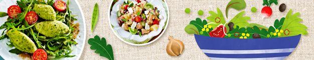 Salatsorten - Kopfsalat   Eisbergsalat   Bataviasalat   Lollo Rosso und weitere Salate - LECKER.de