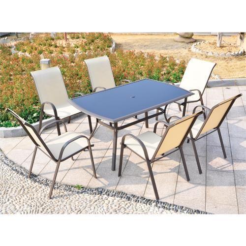ON SALE $198.88 | Doral Designs San Antonio 7 Piece Outdoor Dining Set # Outdoor #