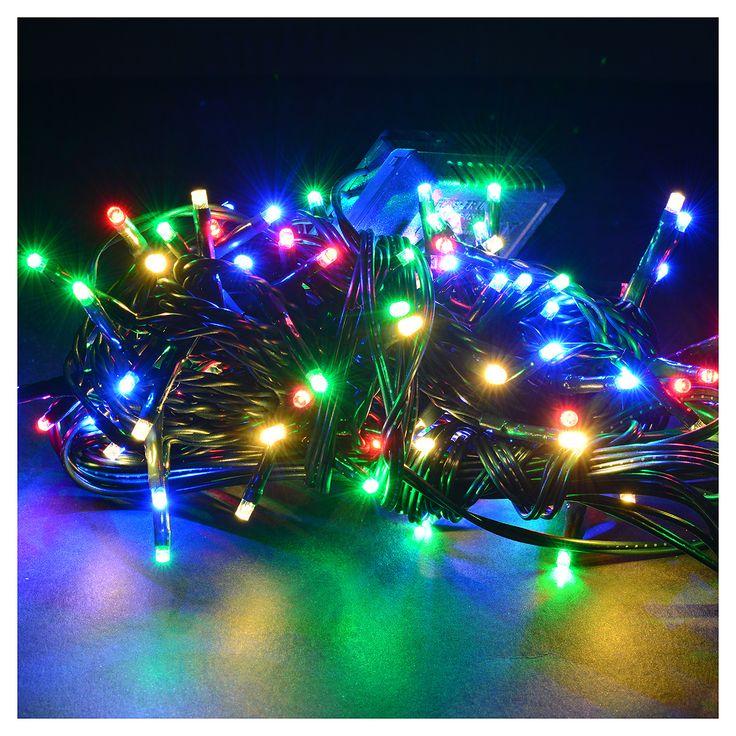 Luci natalizie 120 mini led multicolor programmabile interno/esterno   vendita online su HOLYART