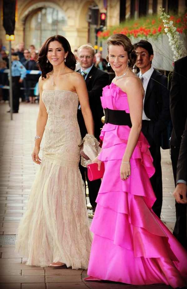 Crown Princess Mary and Queen Mathilde