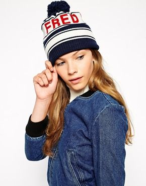 Fred Perry Ski Beanie Hat