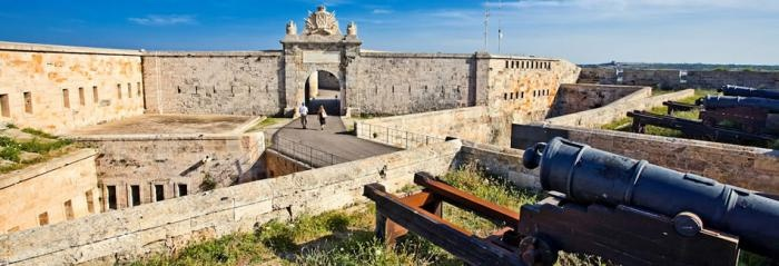 La Fortalesa Mola, Menorca
