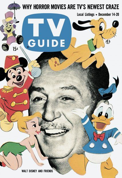 TV Guide, December 14, 1957 - Walt Disney and Friends