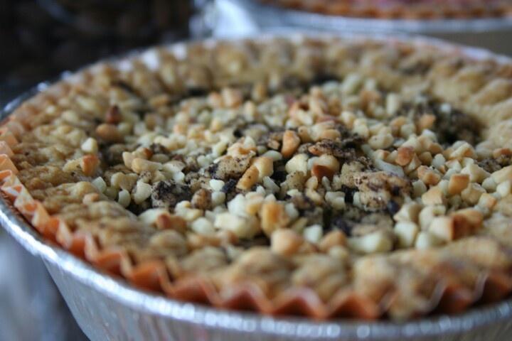 Oreo almond pie