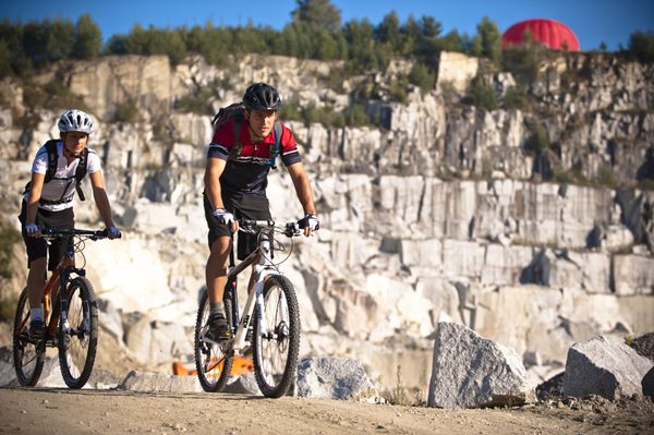 Das #Granithügelland mit dem #Mountainbike entdecken. Weitere Informationen zu #Mountainbikeurlaub im Mühlviertel in #Österreich unter www.muehlviertel.at/mountainbike - ©Oberösterreich Tourismus/Erber