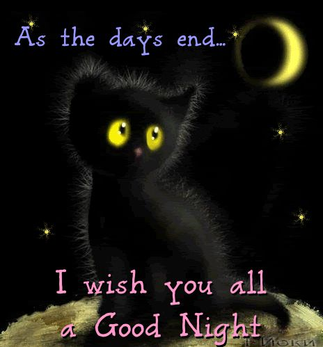 After a hard day of work & struggle wish your loved ones a comforting night with this #ecard. #goodnight