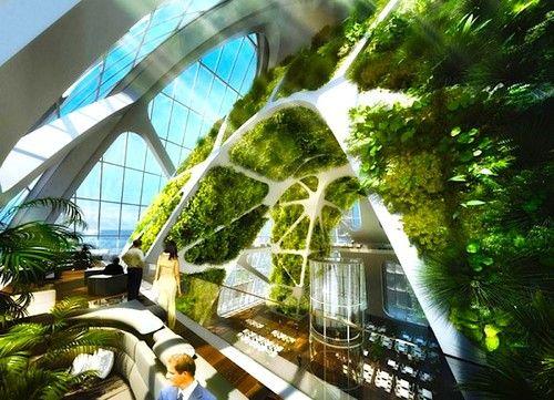 Biotic Arch by Vincent Callebaut, Futuristic Architecture, Taichung Active Gateway City, futuristic skyscraper