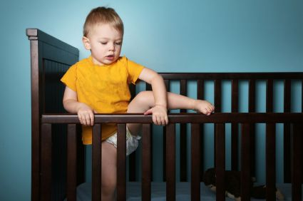 How to Handle Your Toddler (or Baby!) Climbing Out of the Crib | The Baby Sleep Site™ - Baby Sleep Help | Toddler Sleep Help | Custom Sleep Help
