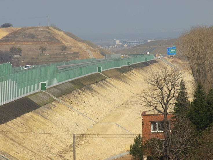 Lublin Expressway bypass, eastern Poland, U/C.