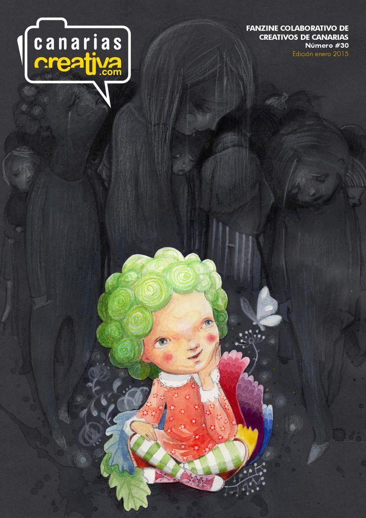 Fanzine 30 CanariasCreativa.com  Portada de Miguel Ángel Bethencourt.