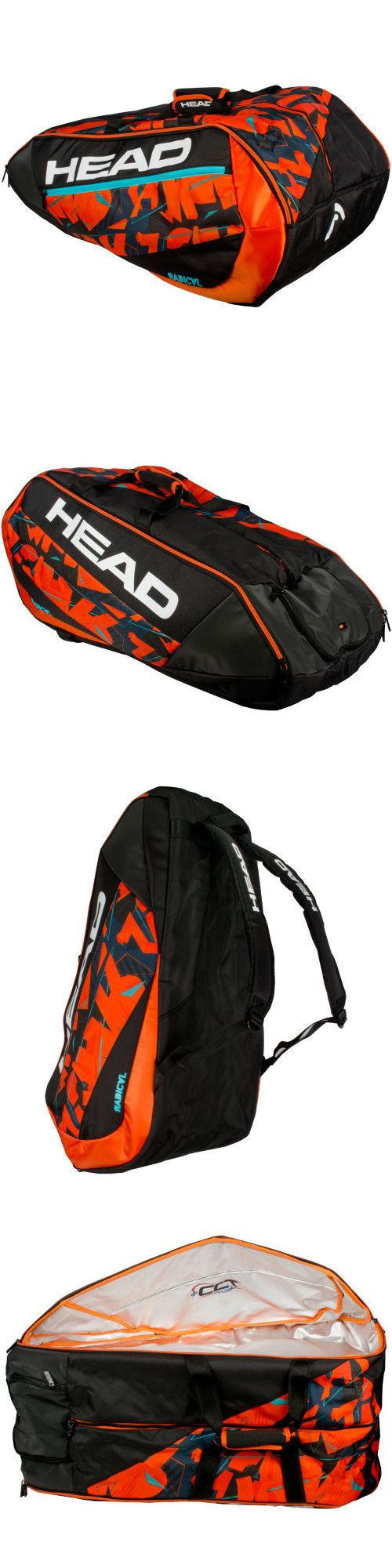 Other Tennis 2917: Head Radical 12 Racquet Monstercombi Tennis Bag 12R 2017 -> BUY IT NOW ONLY: $80 on eBay!
