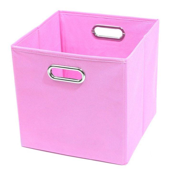 Modern Littles 10 in. Rose Pink Storage Bin - ROSSTOR202