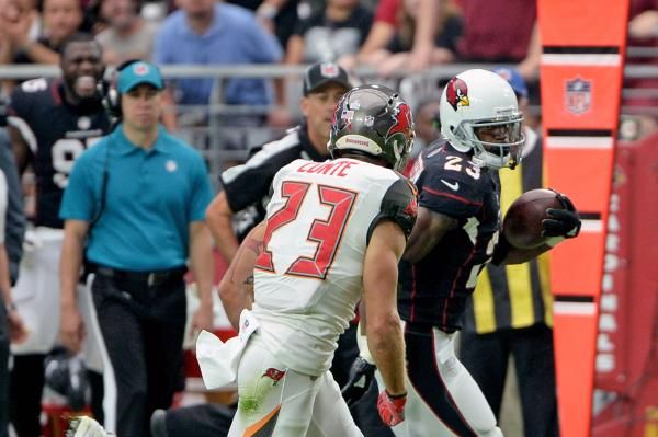 Arizona Cardinals running back Adrian Peterson was named NFC Offensive Player of the Week after an impressive debut with his new team.