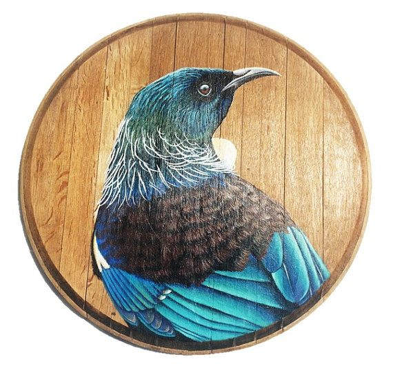 Wine Barrel Birds by Hannah Starnes
