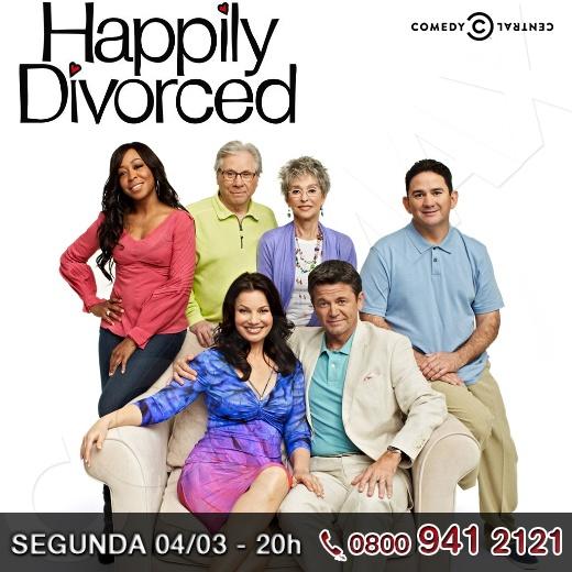 """E se você descobrisse que após 18 anos casada seu marido é gay? Em """"Happily Divorced"""" que estreia a 2ª temporada hoje no Comedy Central, este é o dilema de Fran que segue sua vida adiante, mas continua dividindo o mesmo teto com o ex-marido.     Vai assistir? Então curti ai!!!    http://www.clarotv.br.com/"""