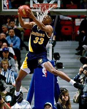 Antonio Davis #Indiana #Pacers #Throwback Another NBA player i played against. Crazy Hops