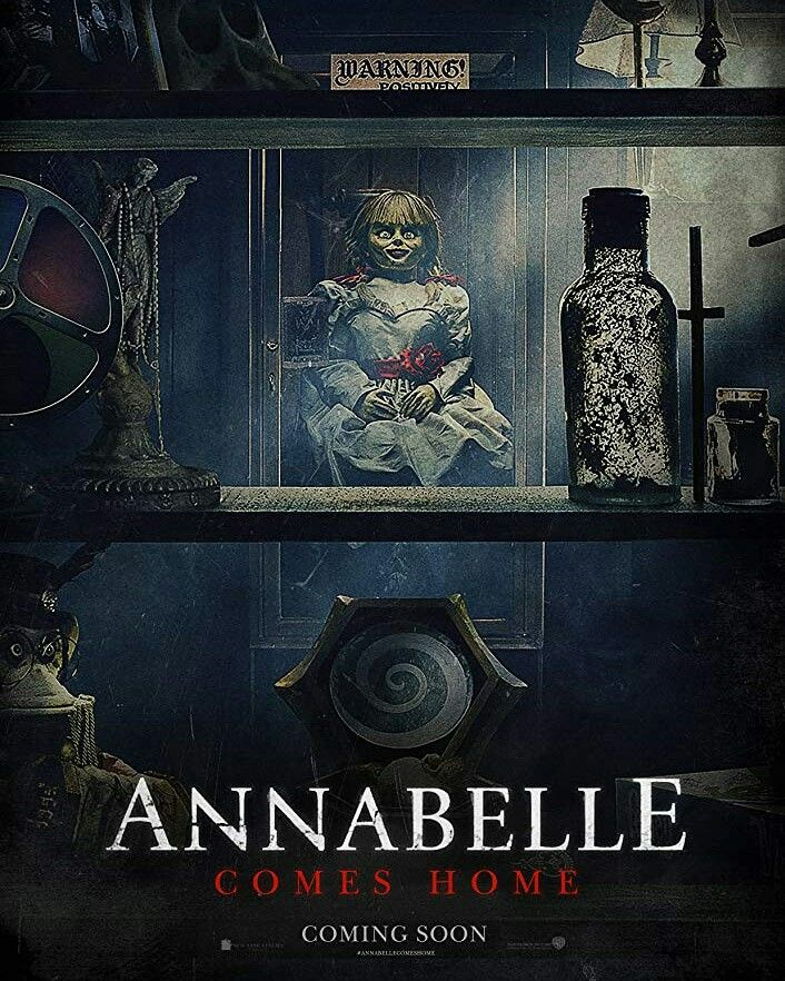 New Official Poster For Annabelle Comes Home 2019 Dir Gary Dauberman Lorraine Warren The Conjuring Free Movies Online