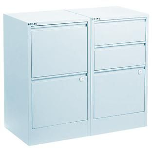 The Container Store U003e Light Blue Bisley® File Cabinets