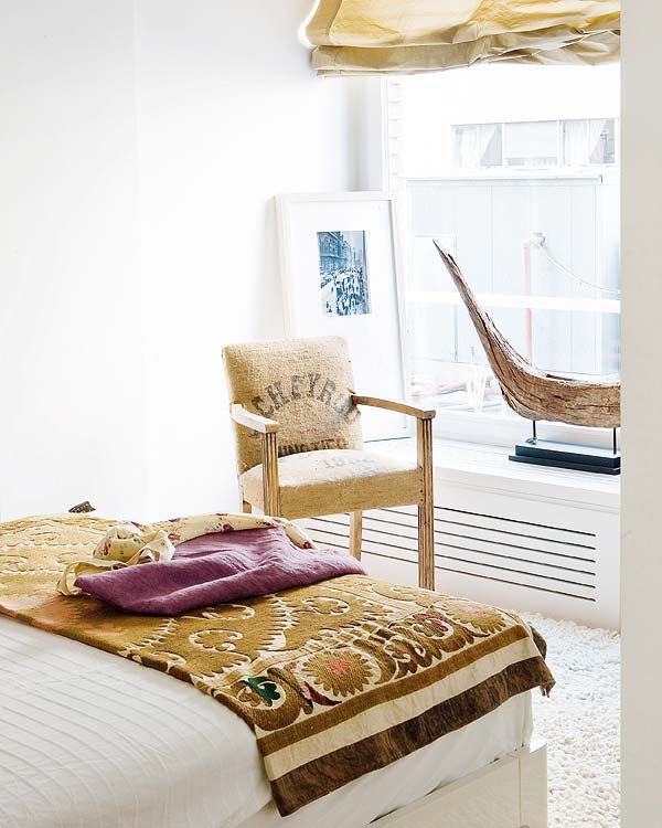 Paul Newman, Beach Bedrooms, Coffe Sack, Interiors Design, Doces Paul, Beds Decor, Burlap Chairs, Small Spaces, Design Elements