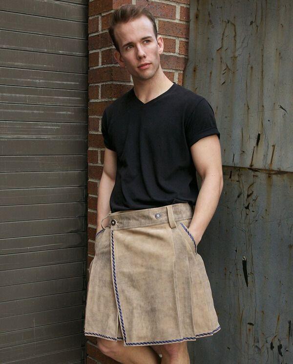 Bavarian Leather Kilt #Bavarian_Leather_Kilt #kilts_online