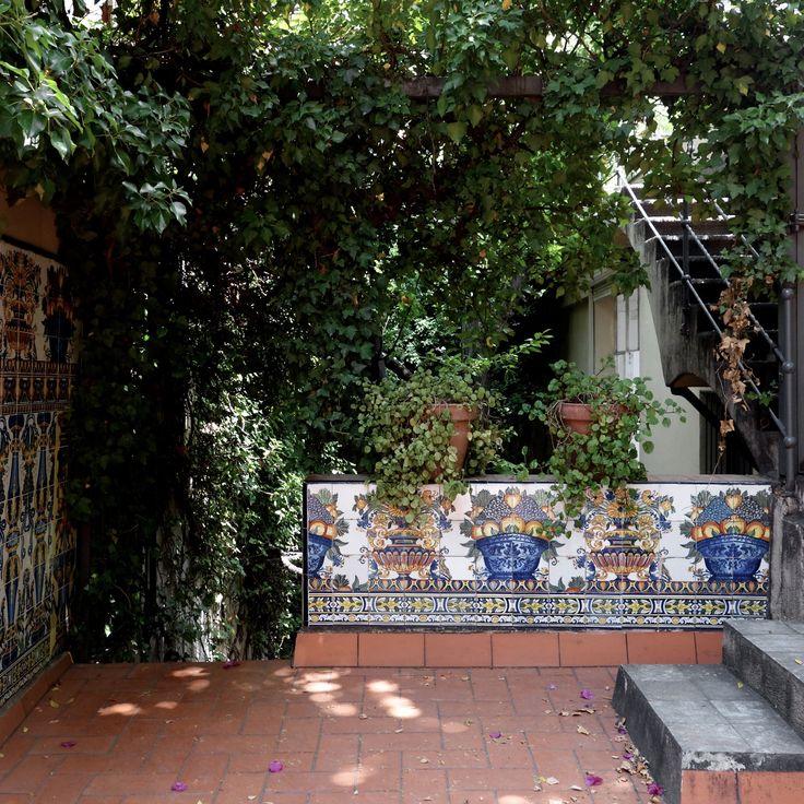 Barcelona-Vinçon's courtyard