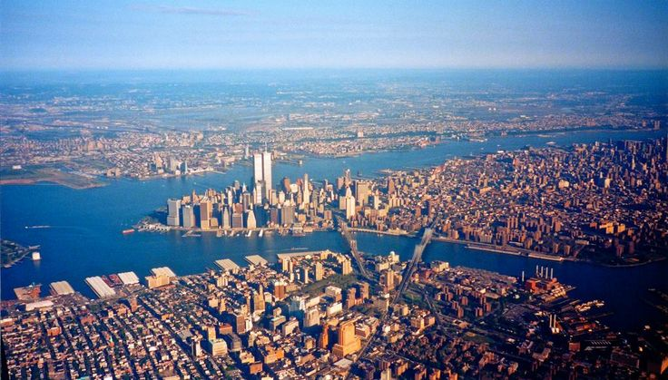 Lower Manhattan 1998 By Steve Frenkel