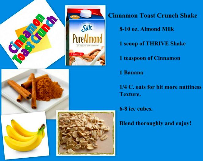 Cinnamon Toast Crunch Shake More@ www.lvcanada.le-vel.com/Experience