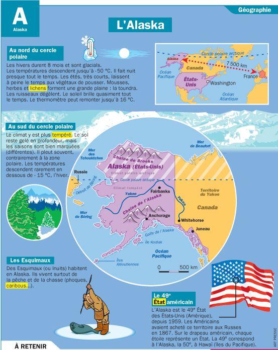 Fiche exposés : L'Alaska                                                       …