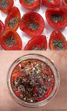 Вяленые пряные помидоры (чтоб не потерять - 2).